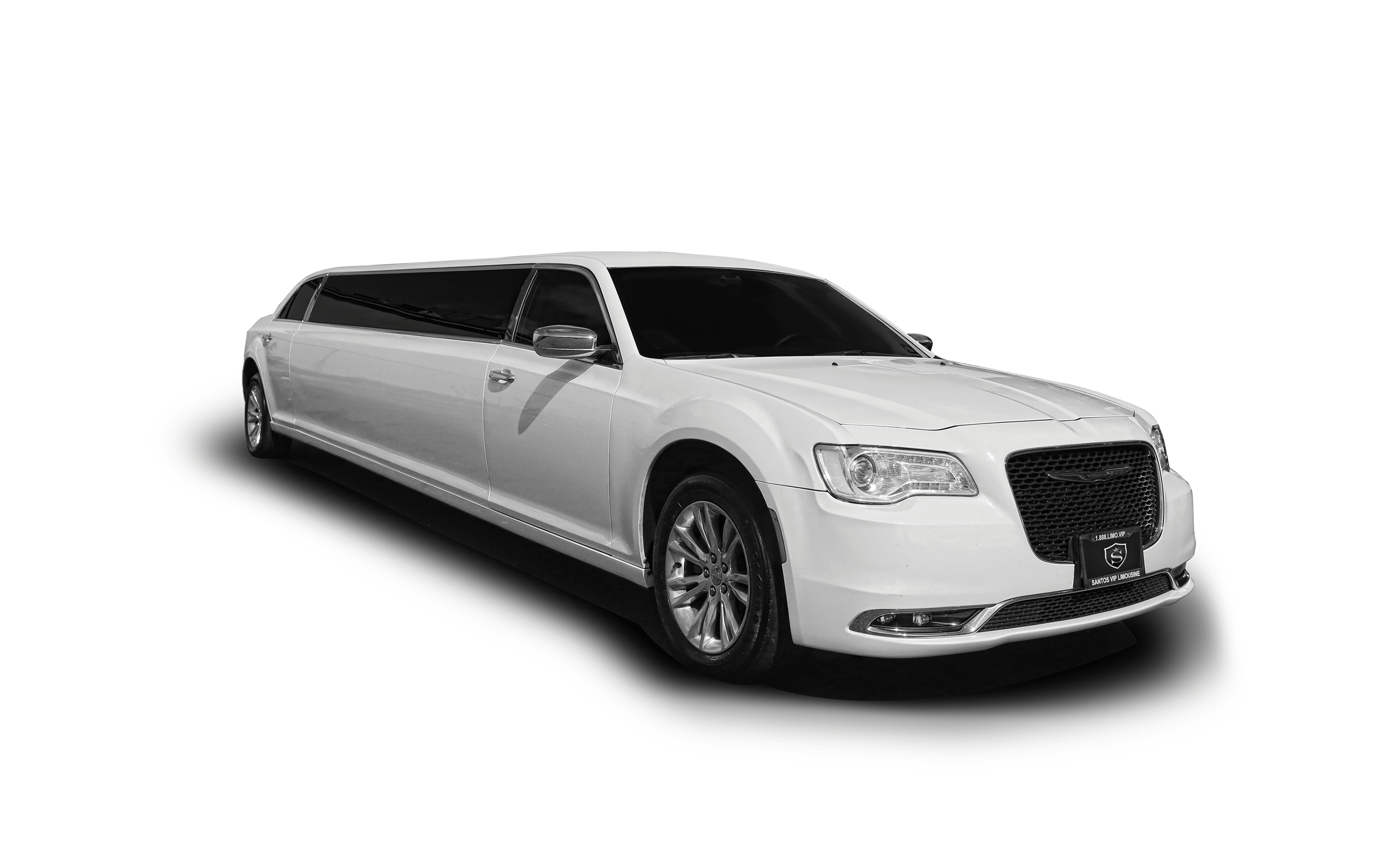 Chrysler 300 stretch limousine bachelorette party limo
