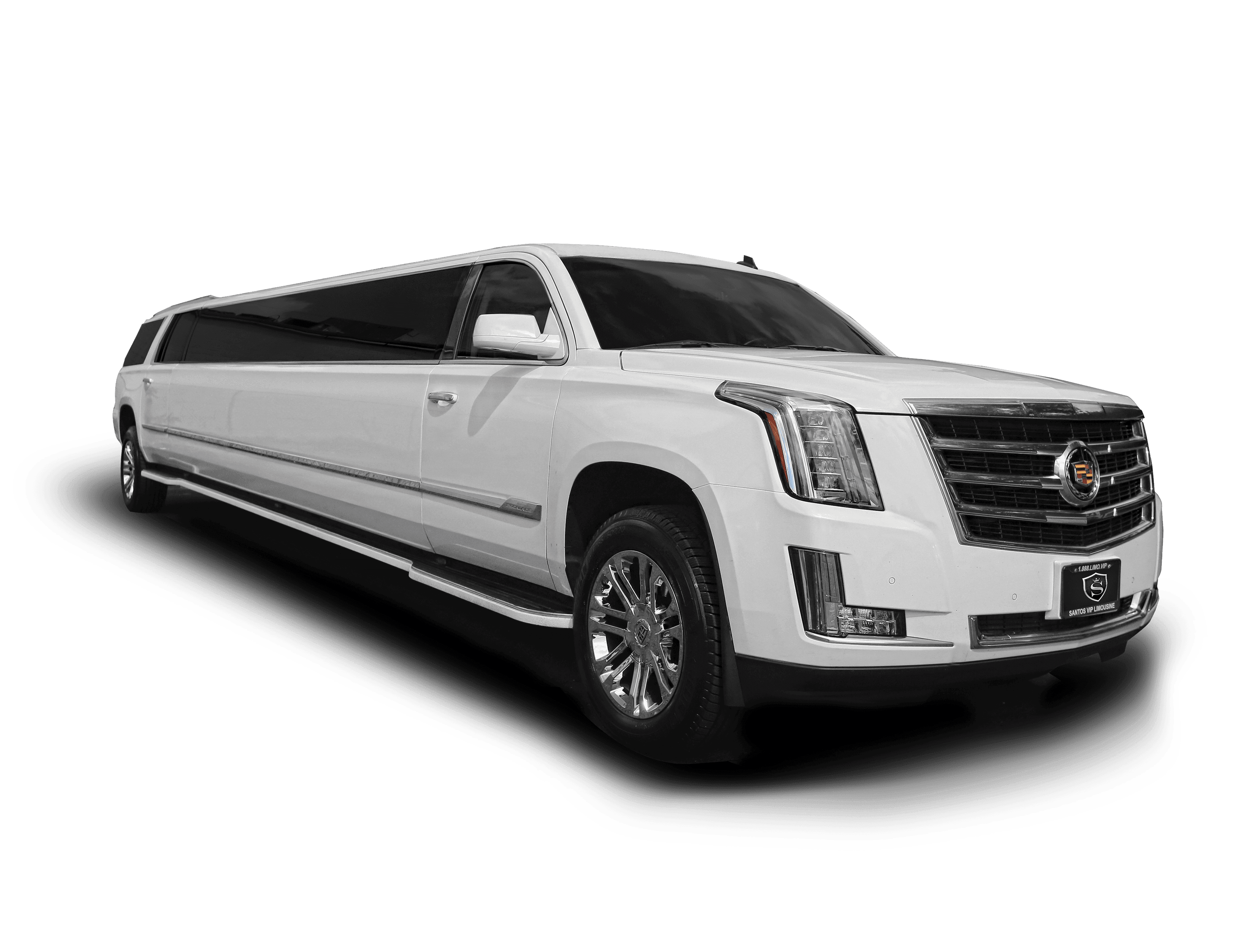 Cadillac Escalade ESV limousine for limo rental in NJ and NY