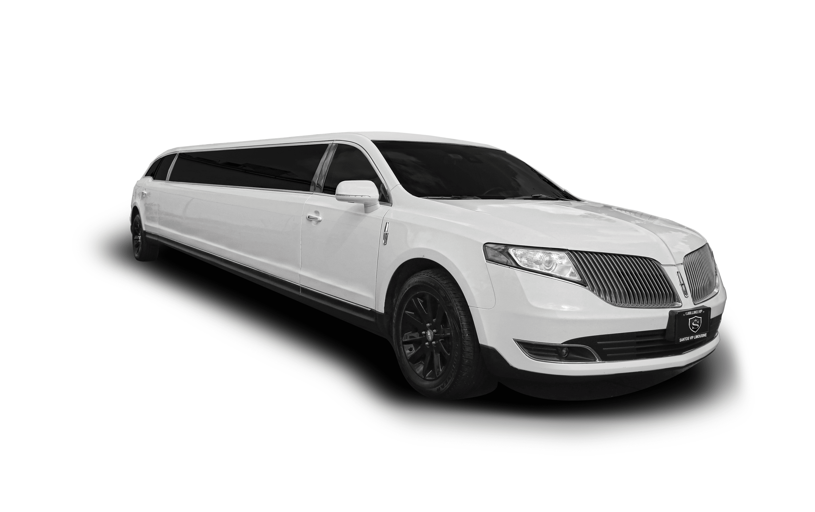Lincoln MKT stretch limo for New York City Holiday Light Tour