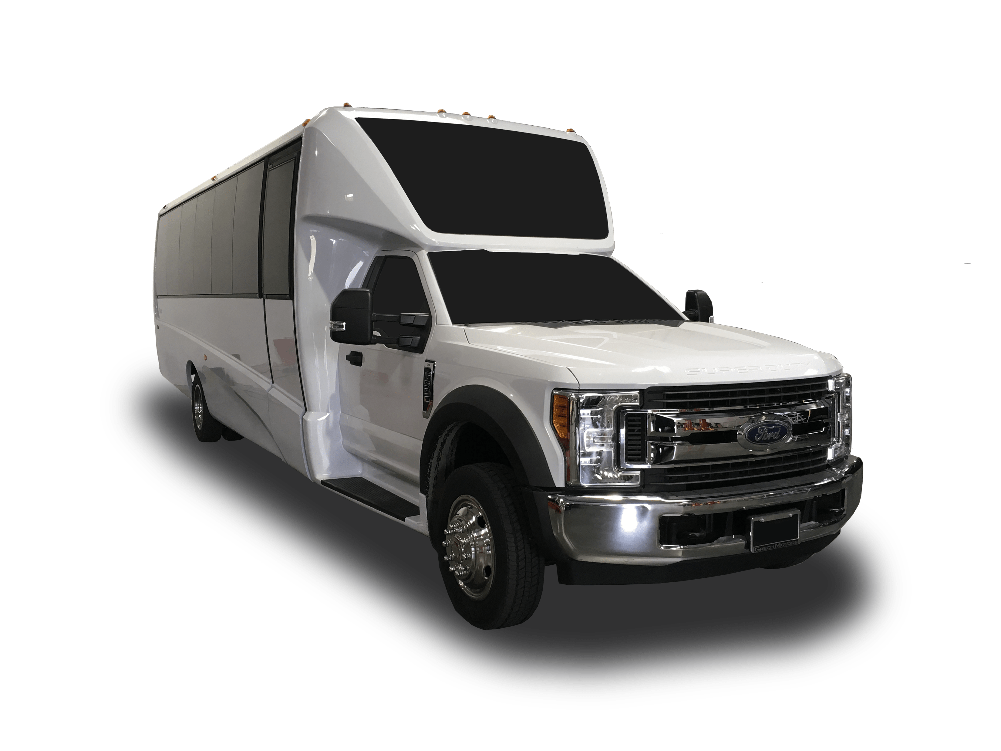 Limo Coach Party Bus rental for VIP Night on the Town Limo Rental