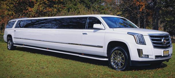 NJ Limousine Fleet - Cadillac Escalade ESV Limousine