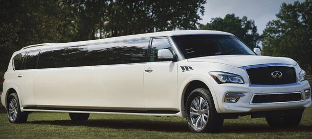 NJ Limousine Fleet - Infiniti QX 80 Limousine