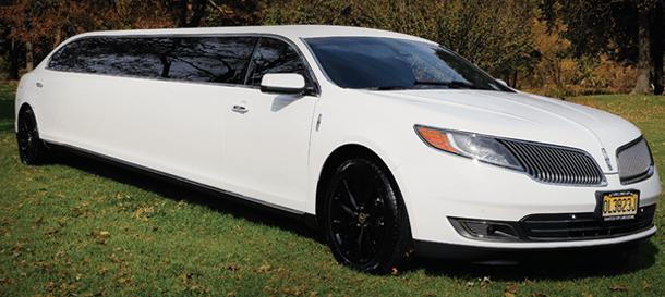 NJ Limousine Fleet - Lincoln MKS stretch limo