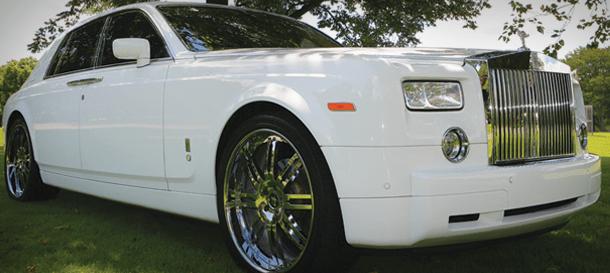 NJ Limousine Fleet - Rolls Royce Phantom