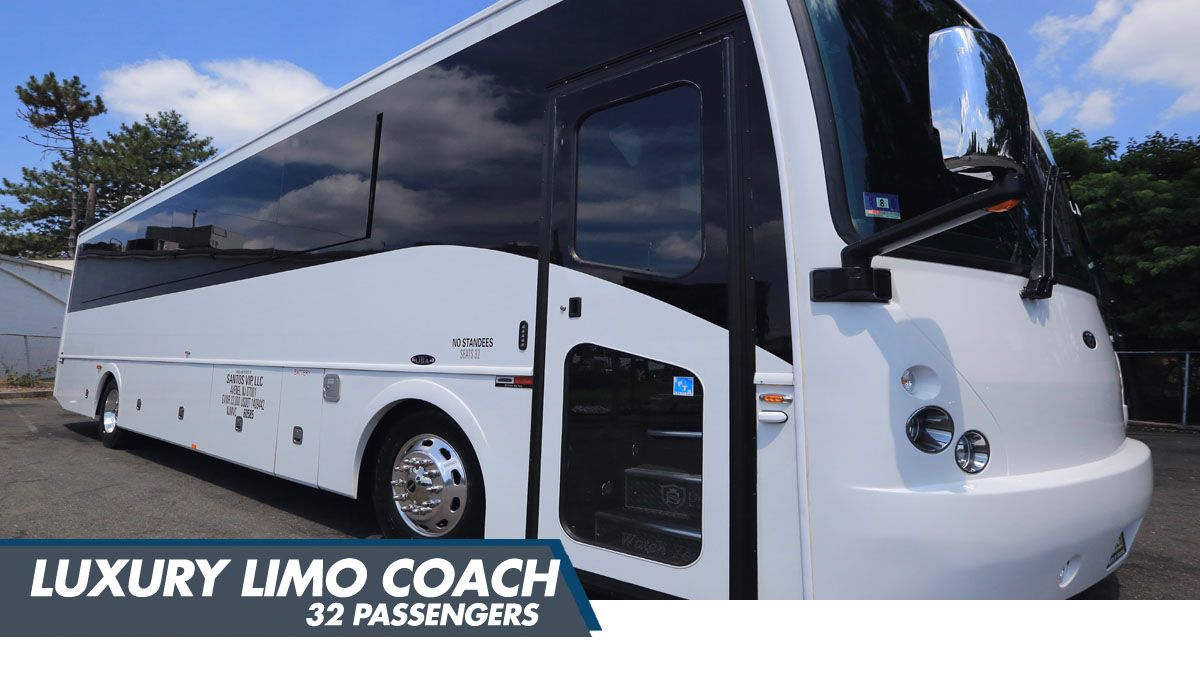 32 Passenger Party Bus Limo Coach