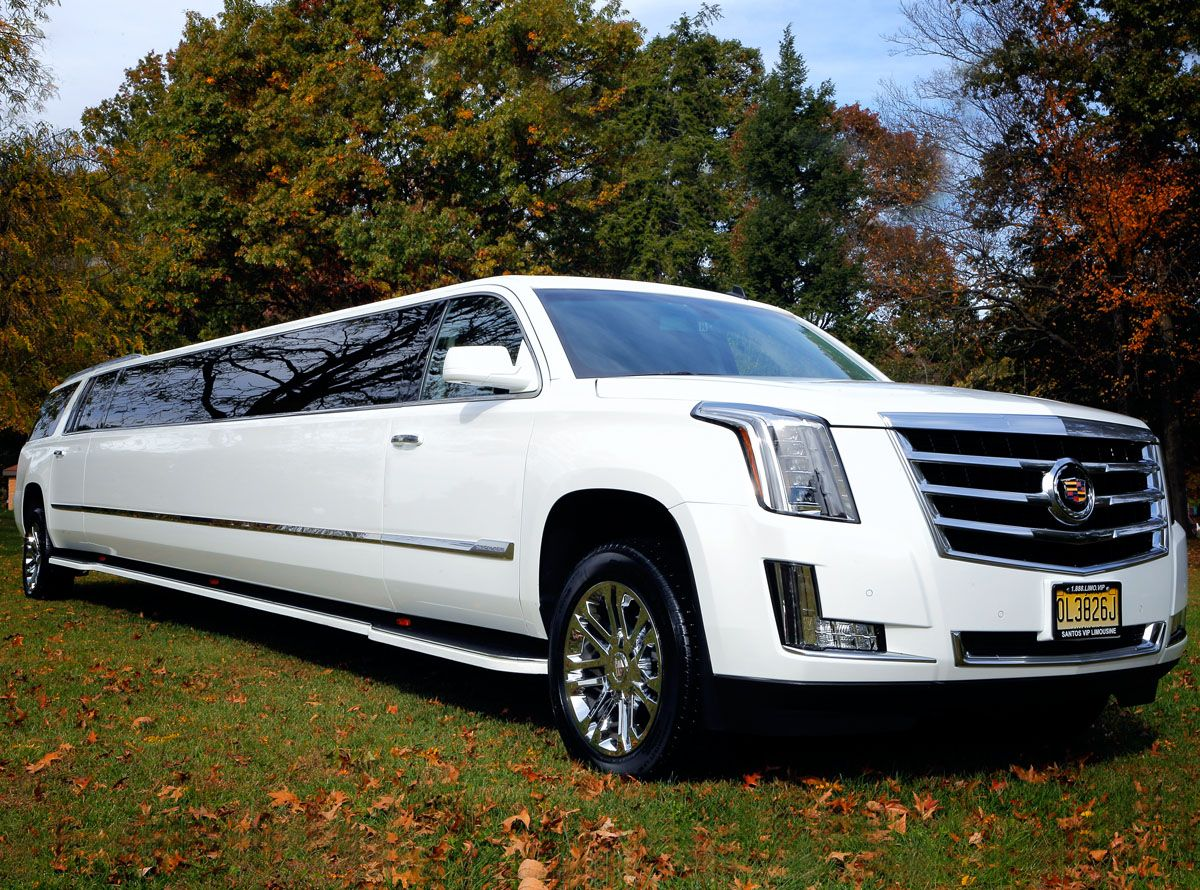 New Jersey Wedding Escalade