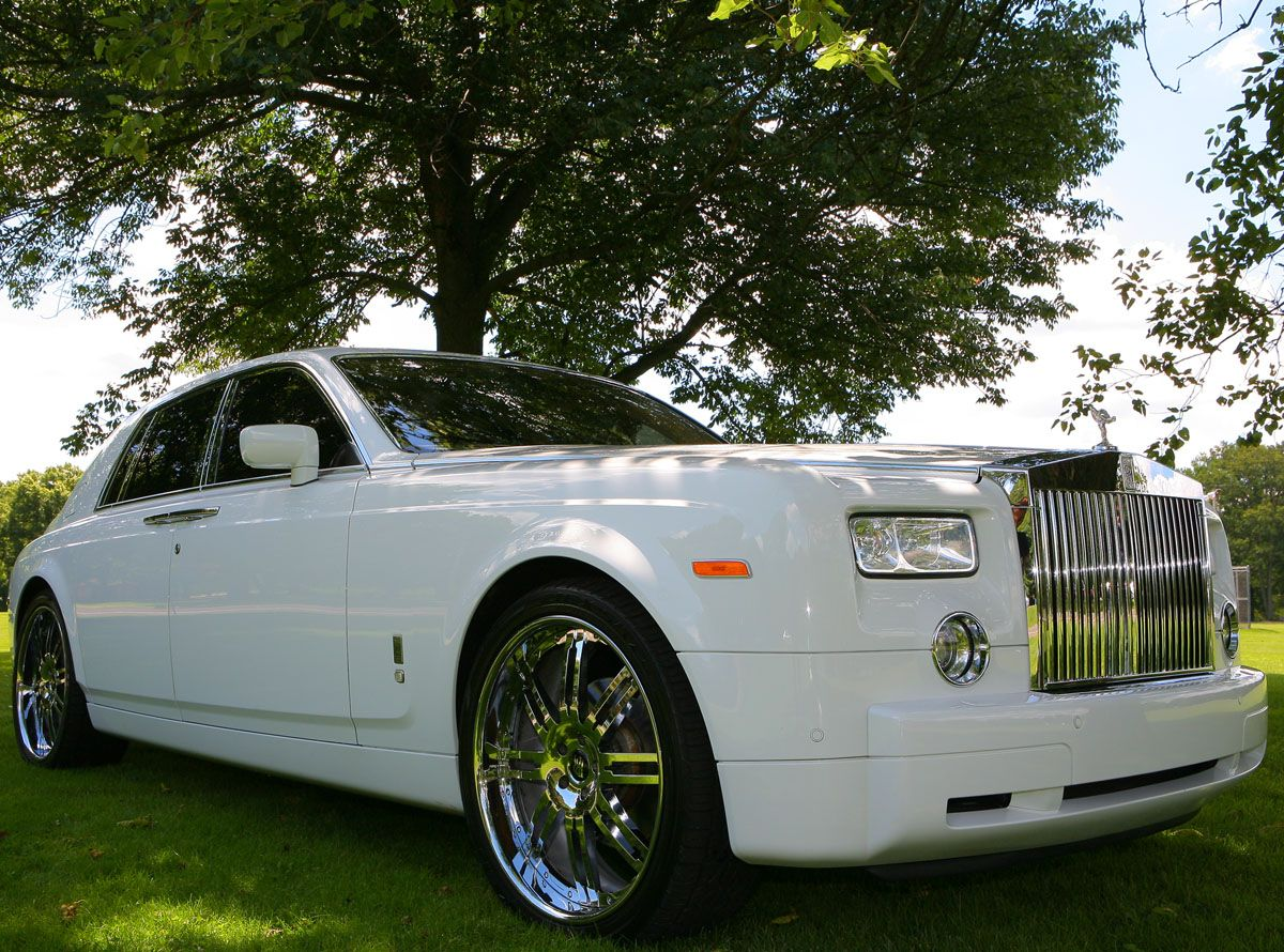 Rolls Royce Phantom Wedding Limo