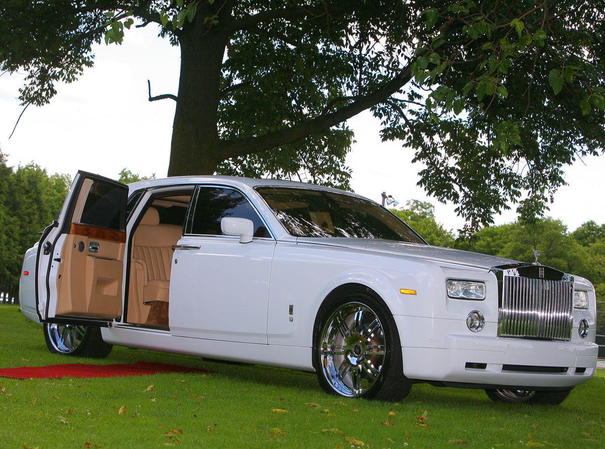 Rolls Royce Phantom Exotic Limo Rental in NJ and NYC