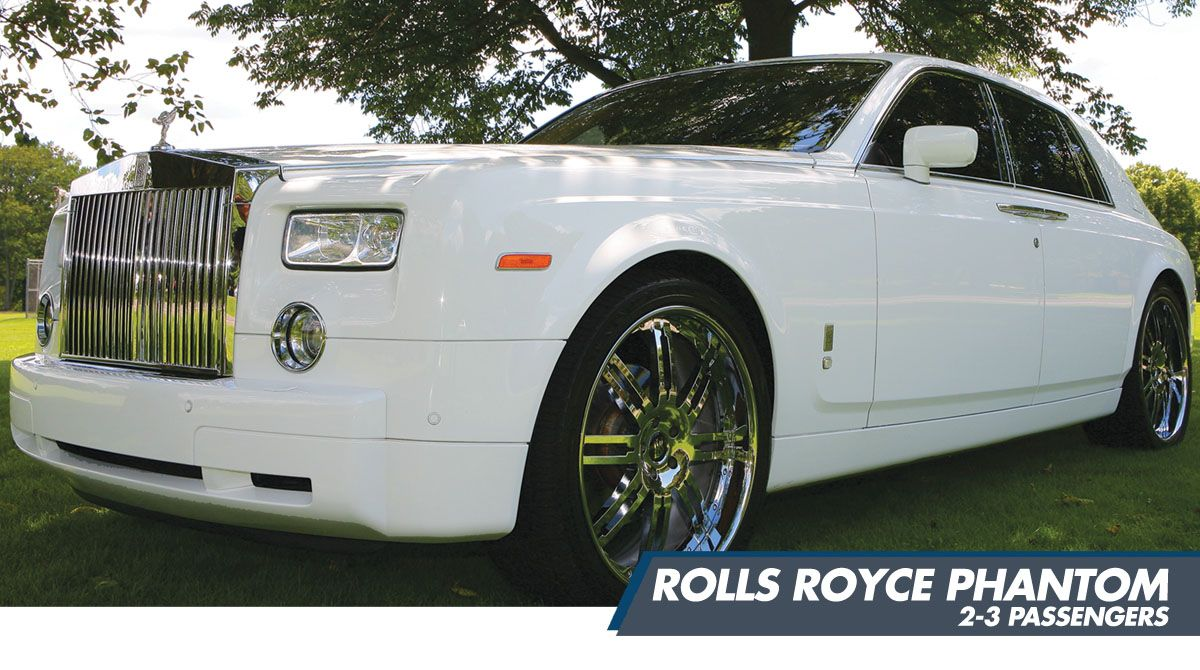 Rolls Royce Phantom by Santos VIP Limousine of New Jersey