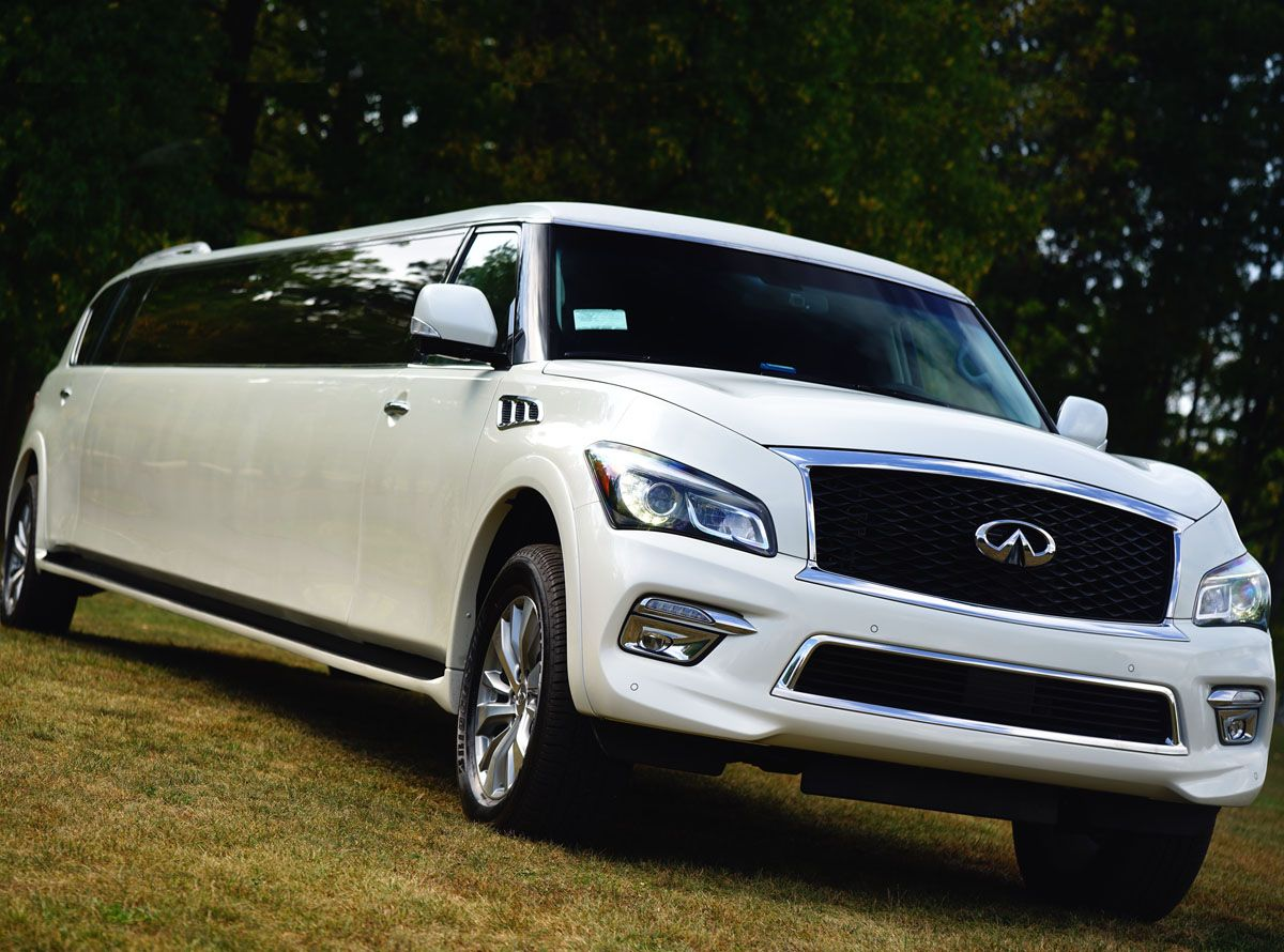 Infiniti Qx 80 Limo Luxurious Stretch Limousine For Any