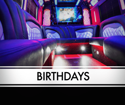 NJ Birthday Limousine - Limo Party Bus Packages