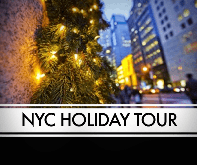 NYC Holiday Limo Tour - Limo Party Bus Packages