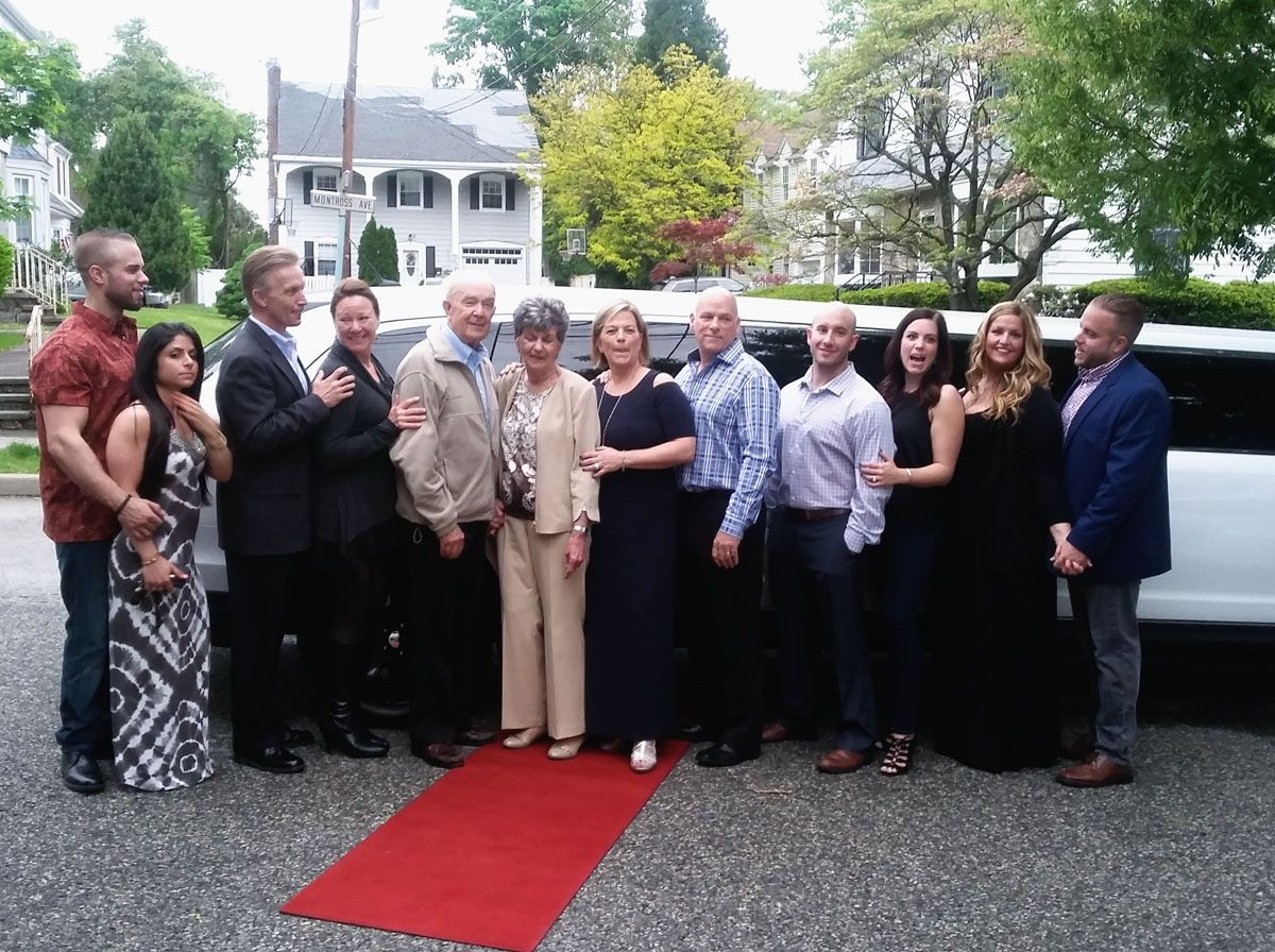 New Jersey Wedding Family Limo