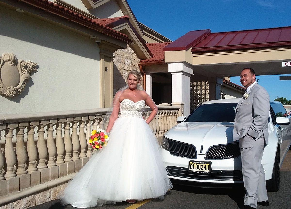 Bride and Groom Limo MKT