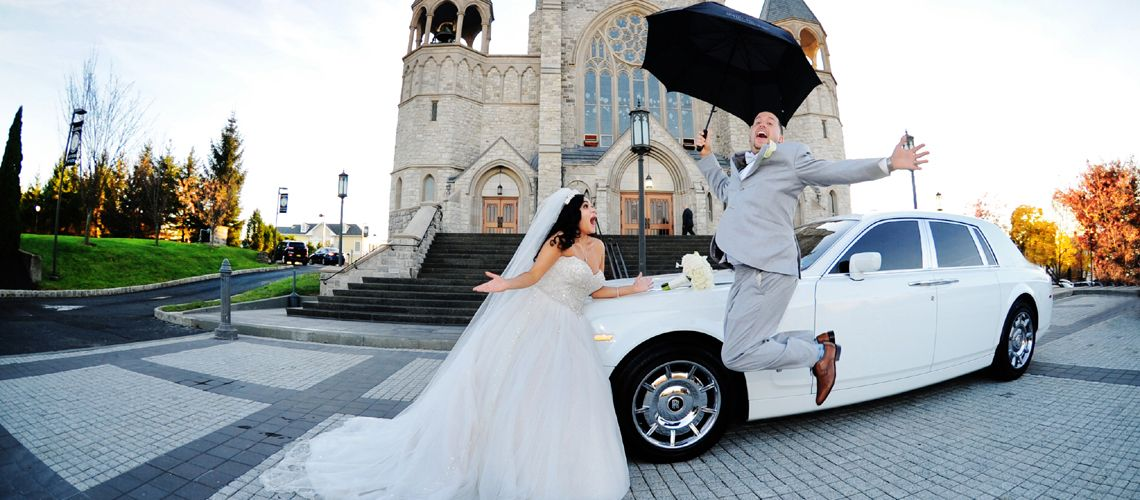 Wedding Day Limo Service - Limousine And Party Bus Rentals for Weddings in NJ - NY.
