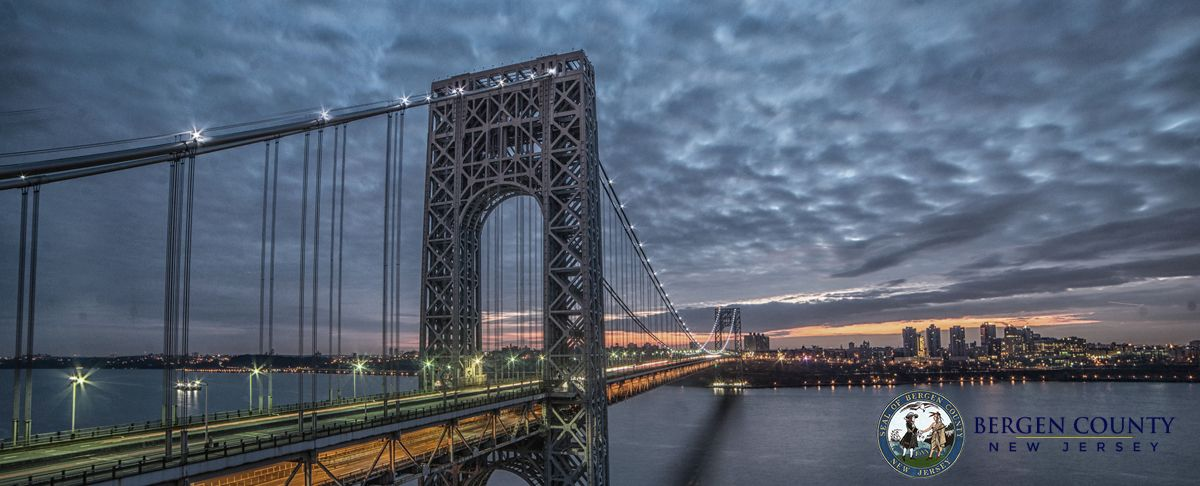 George Washington Bridge, Bergen County, NJ
