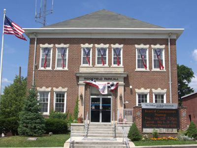 Ridgefield Park NJ Town Hall Building