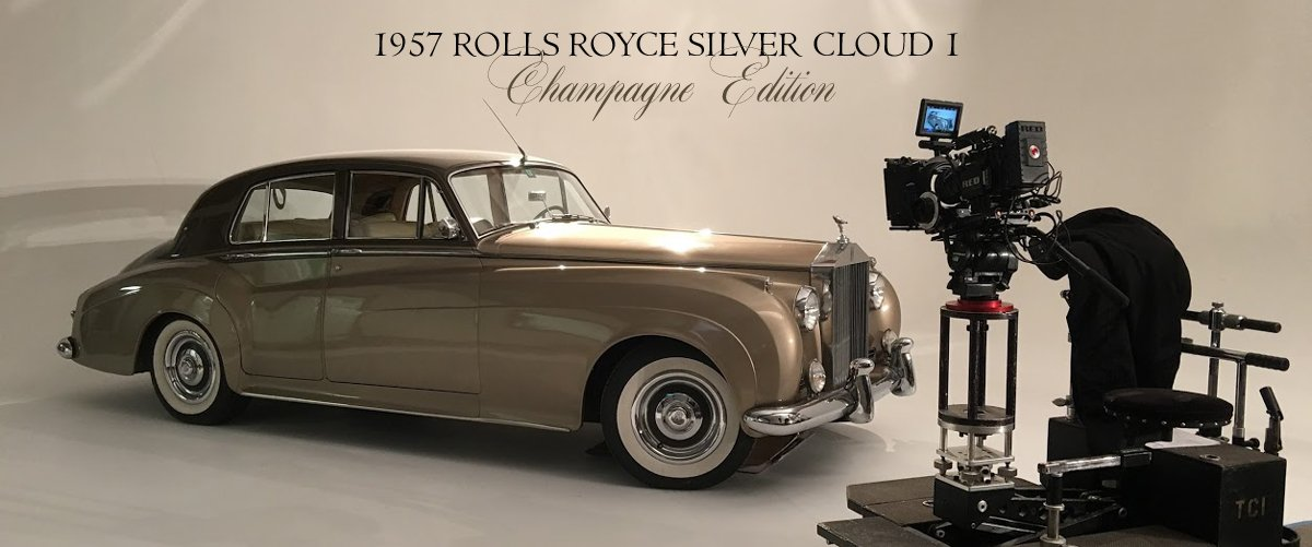 Rolls Royce Silver Cloud I Champagne Edition