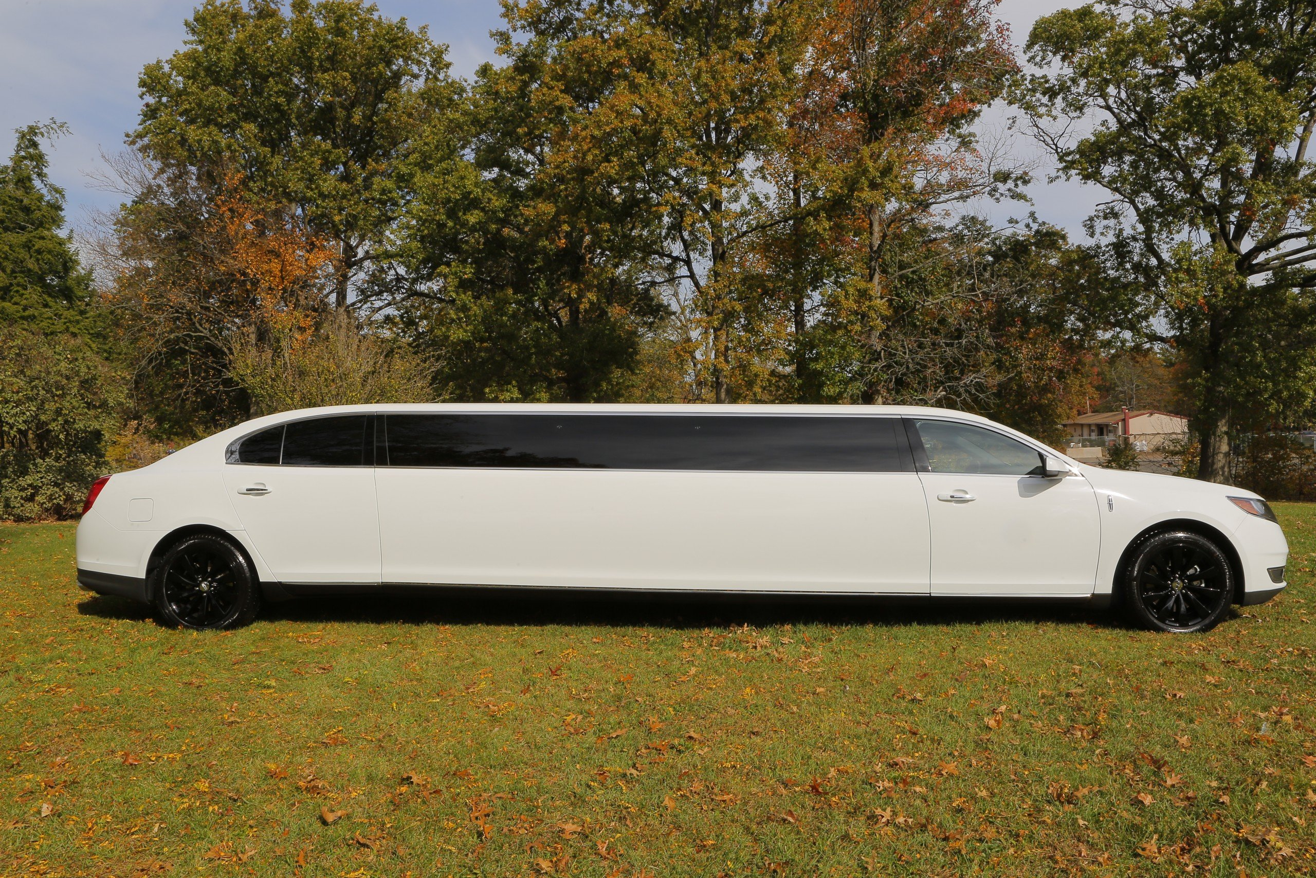 Lincoln MKS Stretch Limo - exterior