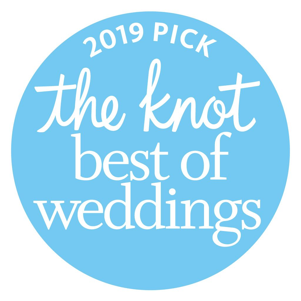 2019 Winner - Best of Weddings - theknot.com