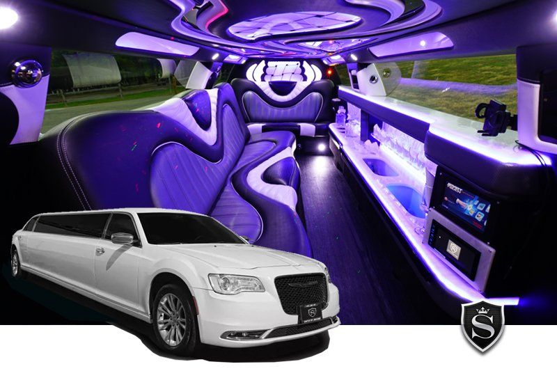 Chrysler 300 stretch limo - Prom Limo Service