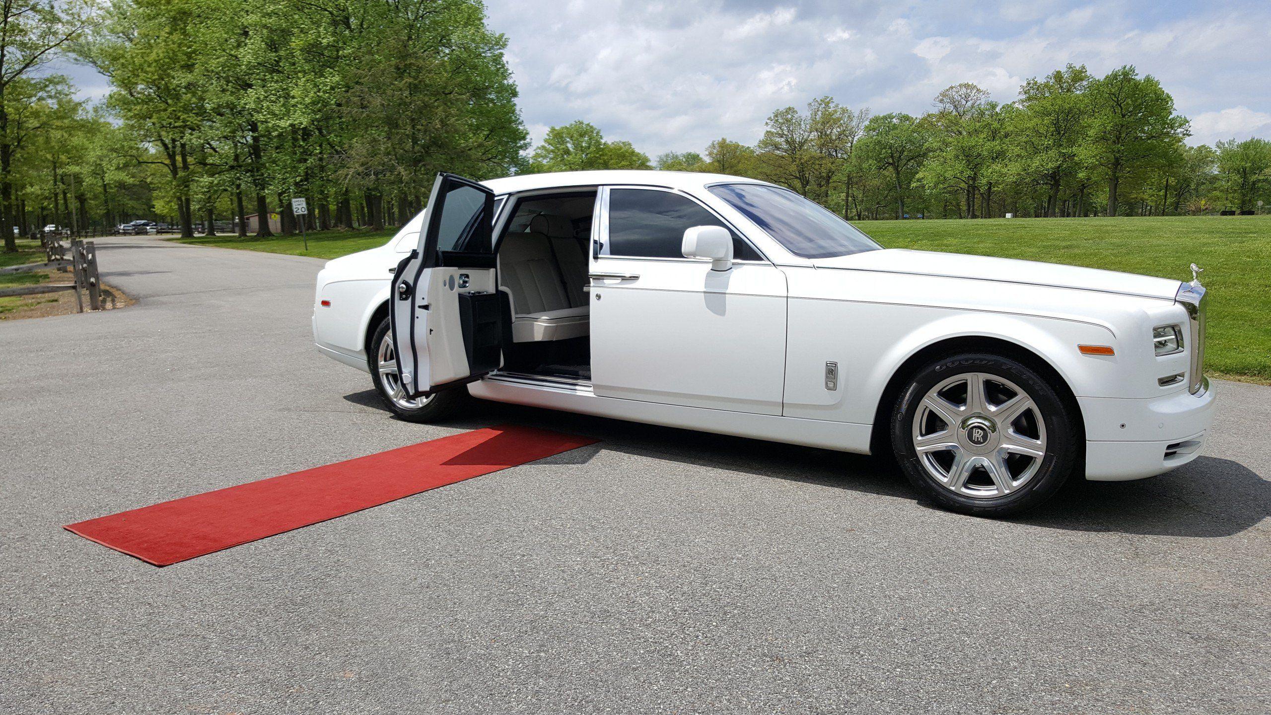 Rolls Royce Phantom Limo Rental In New Jersey Santos Vip Limousine