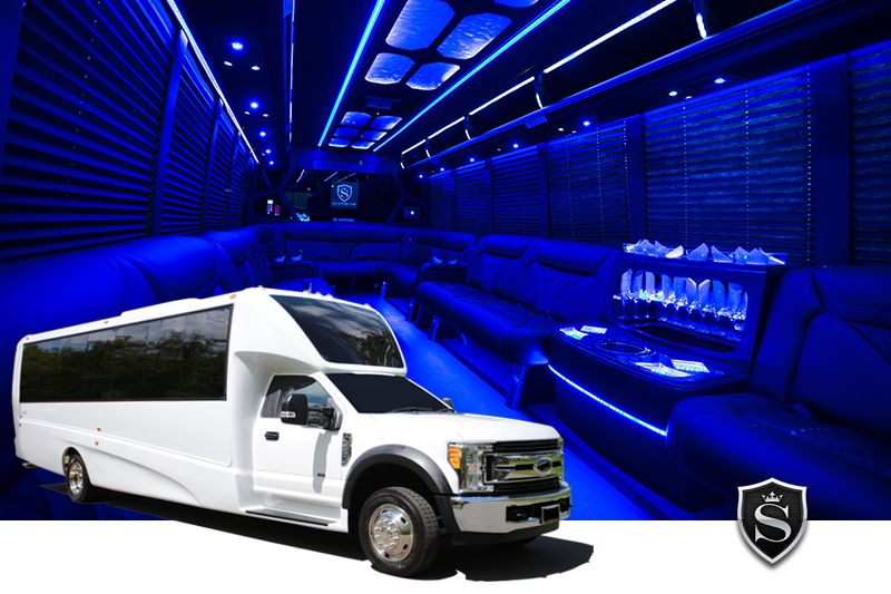 Party Bus Rental for Birthday Party