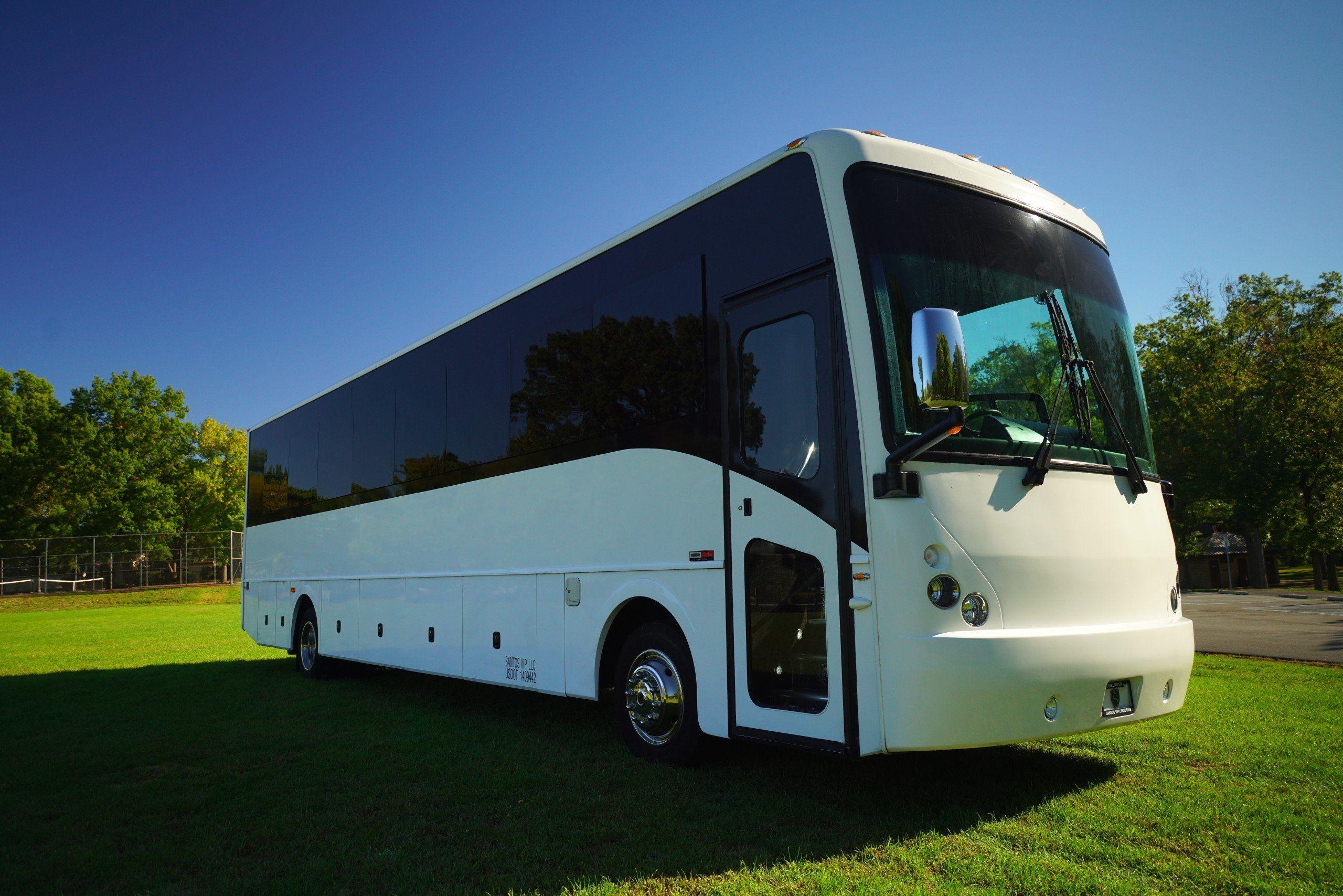 42 Passenger Party Bus Party Bus Rental In Nj Santos Vip Limousine